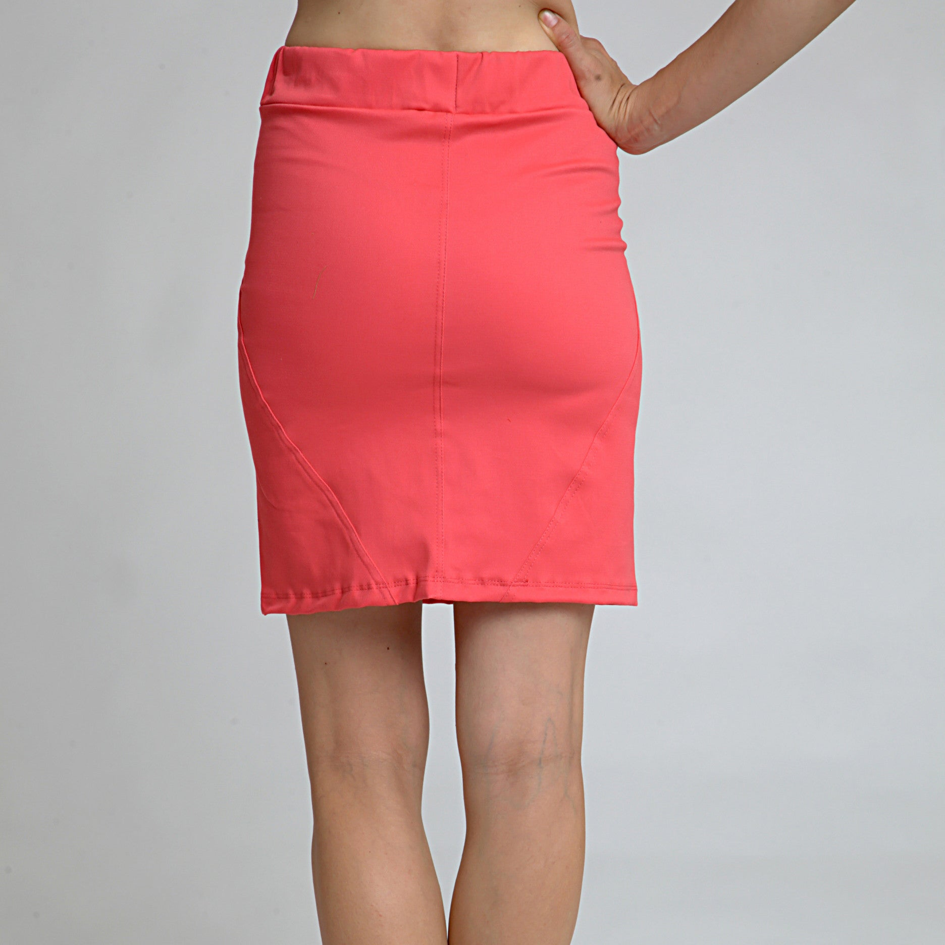 Cotton Skirt - DuendeFashion  - 3