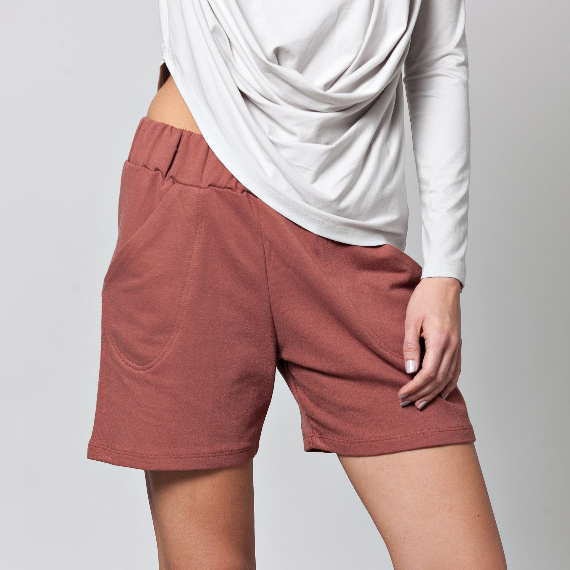 Loose fit shorts - DuendeFashion  - 2