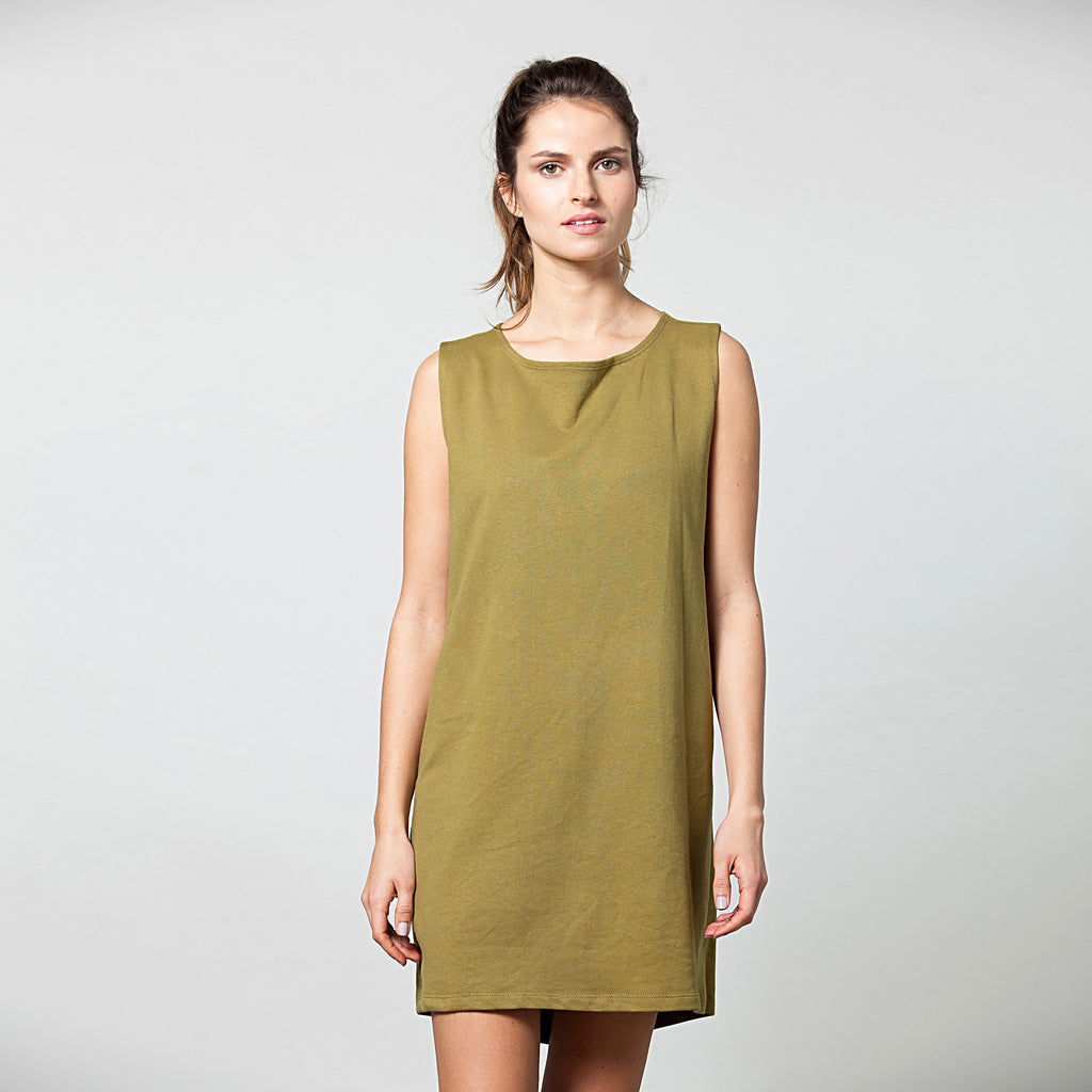 Draped back tunic - DuendeFashion  - 1