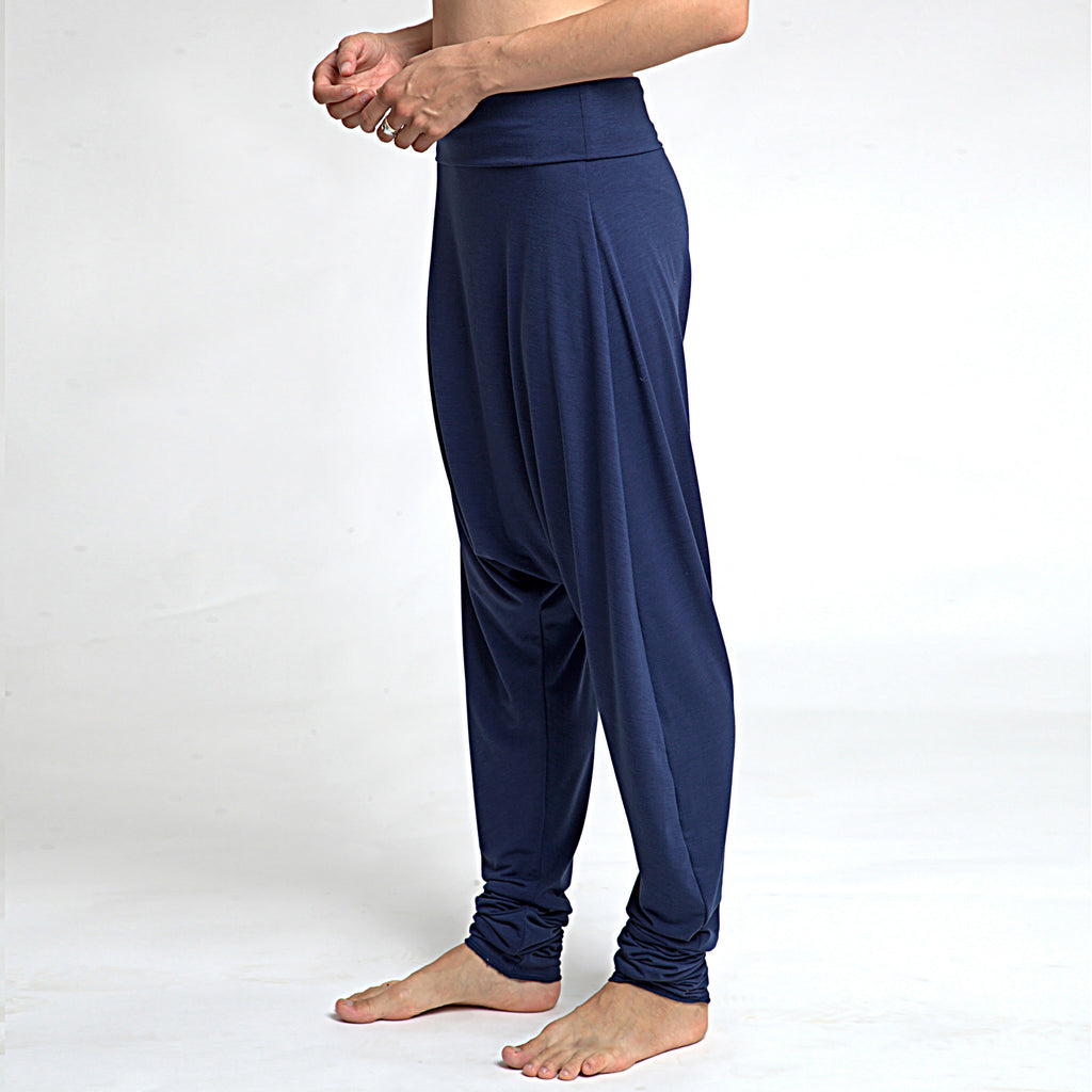Jersey Harem Pants and stonewashed grey harem pants- ready to ship - DuendeFashion  - 1