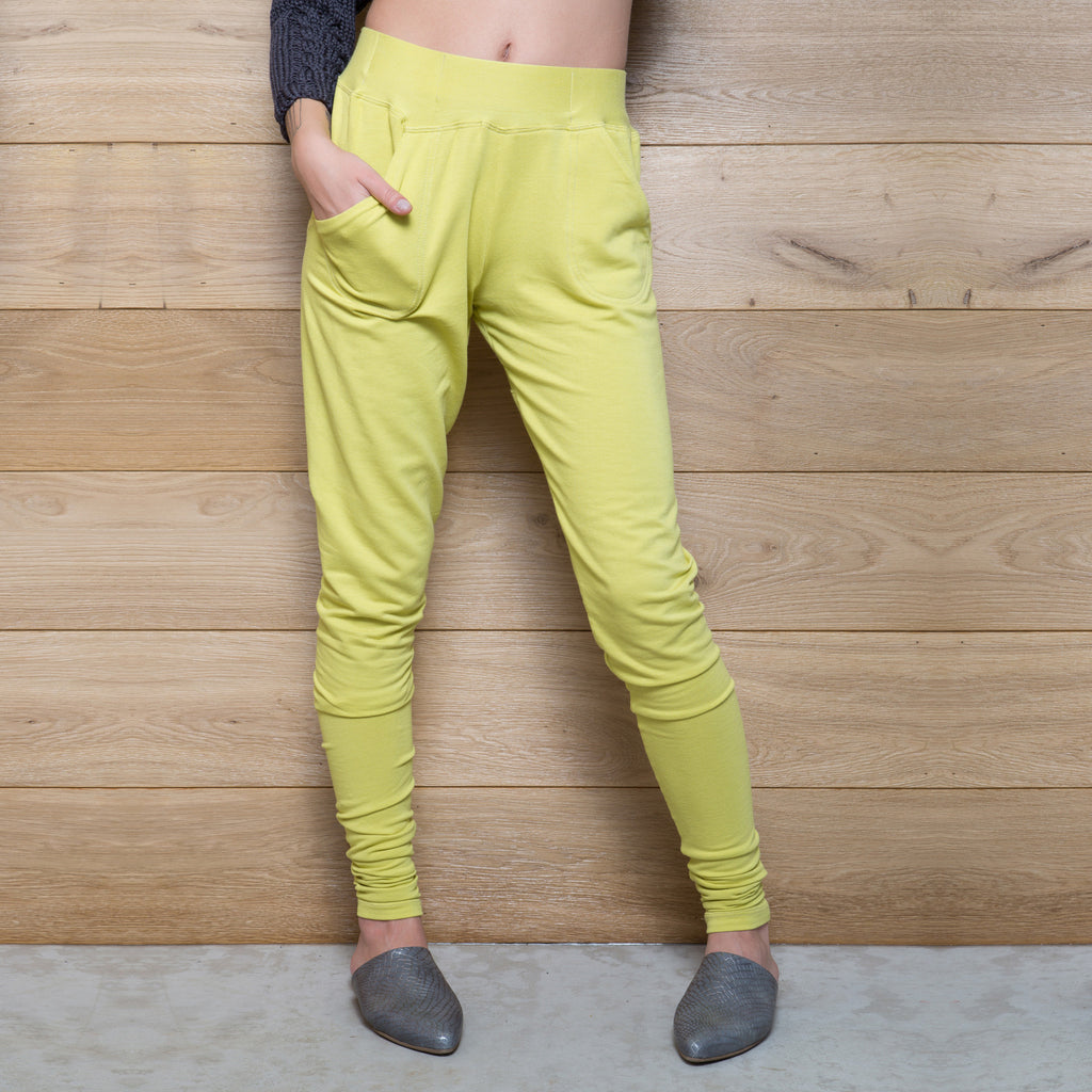 French terry pocket pants - DuendeFashion  - 1