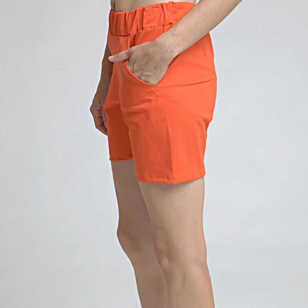 Cotton Shorts - DuendeFashion  - 1