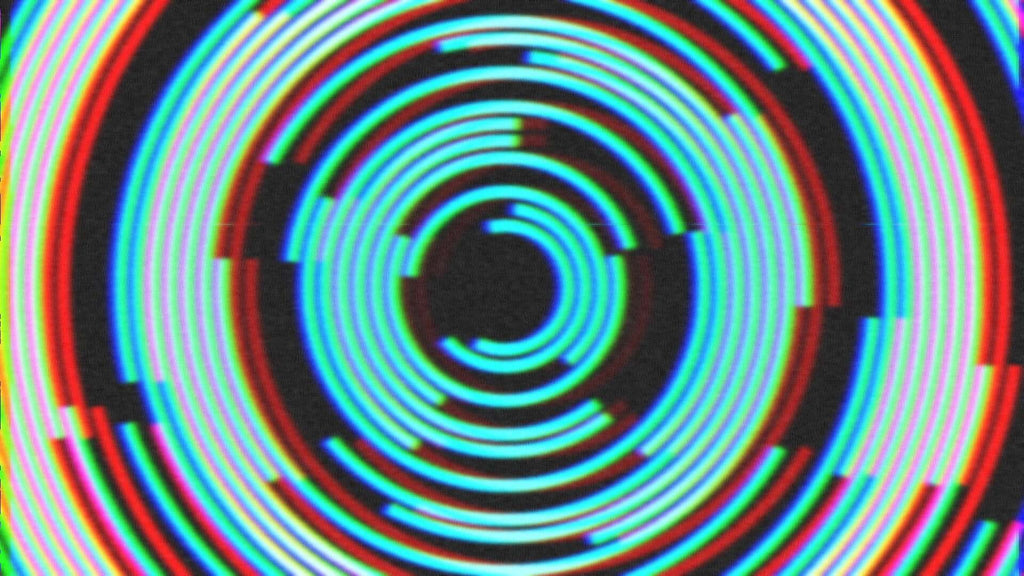 Concentric Circles in Resolume VJ Software