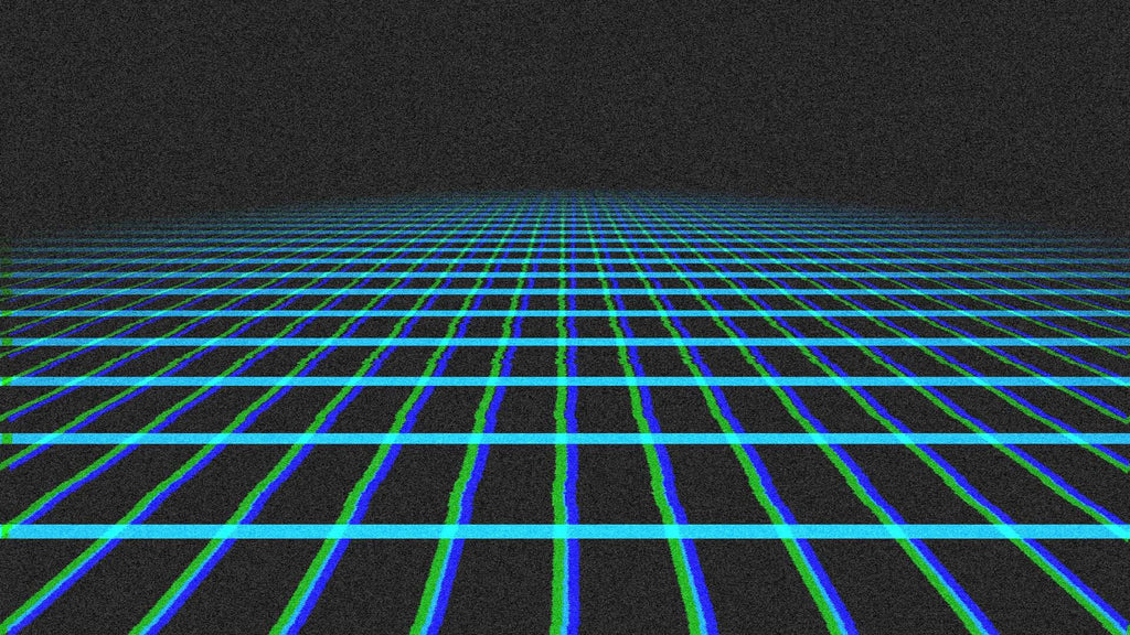 Tron Landscape in Resolume VJ Software