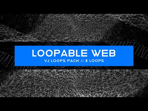Loopable Web VJ Loops Pack