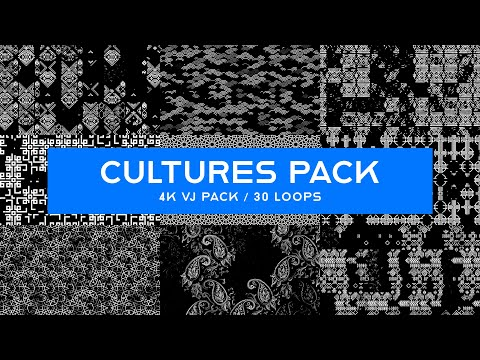 Cultures Pack / Patterns VJ Loops Pack