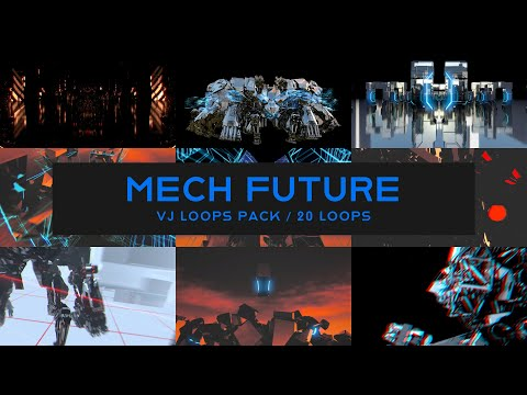 Mech Future VJ Loops Pack