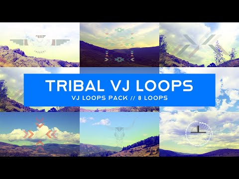 Tribal VJ Loops Pack