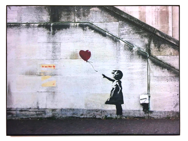 "STREET ART -  BANKSY - ""South Bank, Londra"""