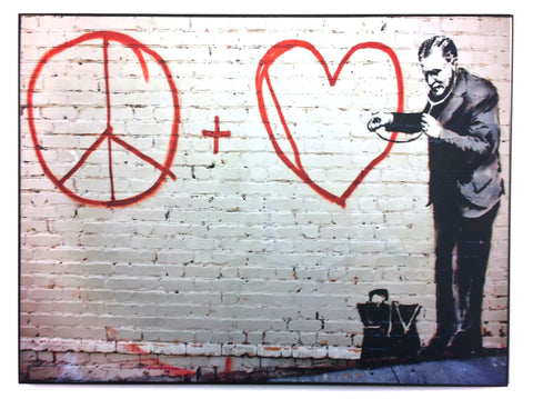 "STREET ART - BANKSY - ""Erie and Mission Street"