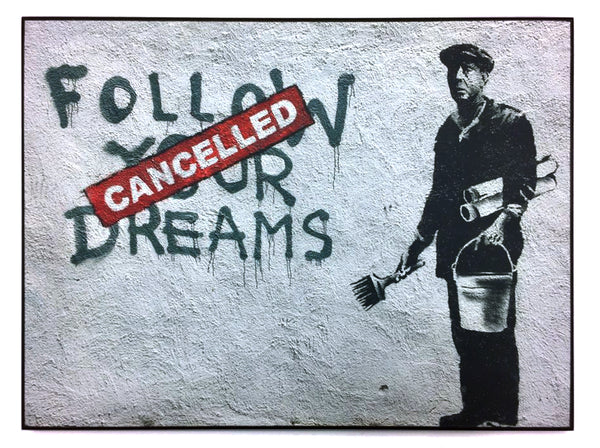 "STREET ART - BANKSY - ""Essex Street, Boston"""