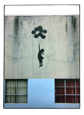"STREET ART- BANKSY - ""West Bank Wall, Palestina"