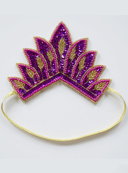Tiara Pink Hairband