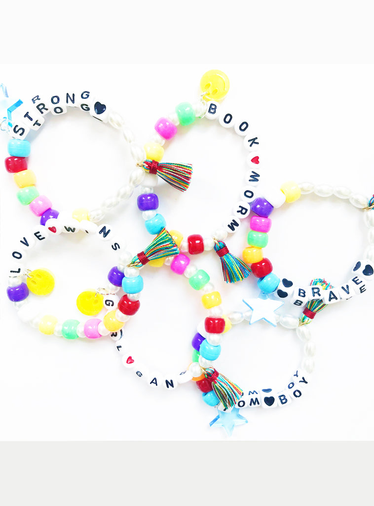 Personalised Stacking Letter Bracelet