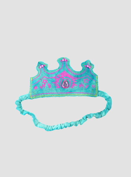 Couronne Aqua/Hot Pink Headband