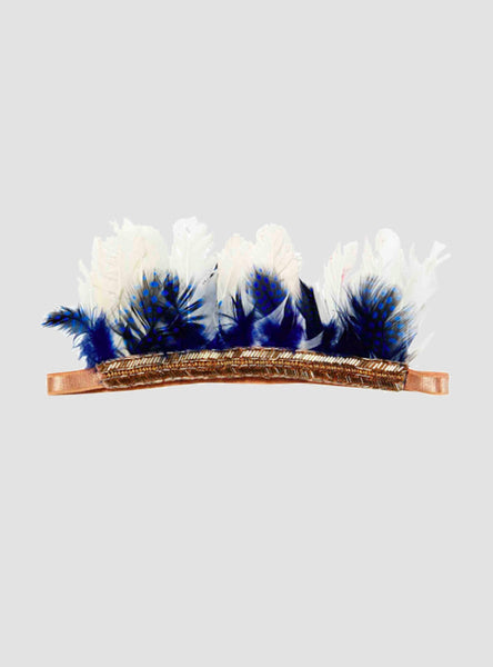 Firefly Royal Feather Headband