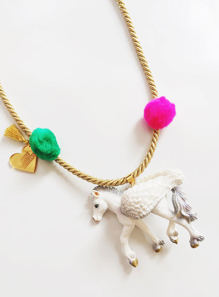 Enchanted Creatures Pegasus Necklace