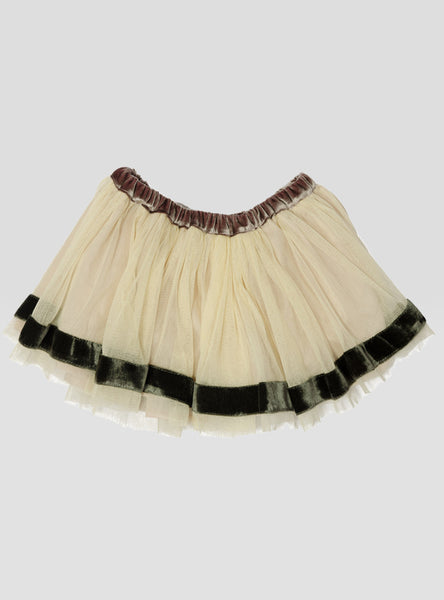 White Rose Tutu Skirt