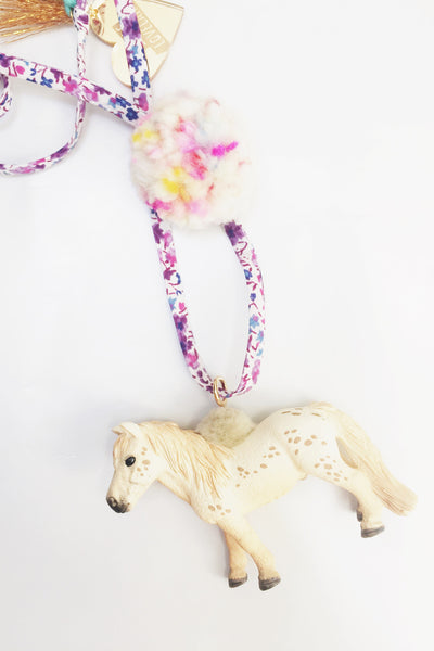 Liberty Mini Horse Necklace