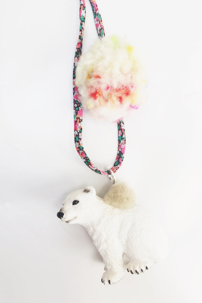 Liberty Polar Bear Necklace