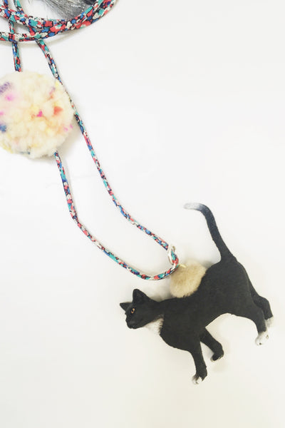 Liberty Black Cat Necklace