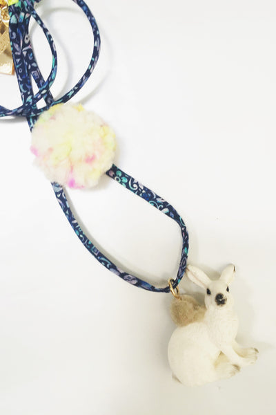 Liberty White Rabbit Necklace