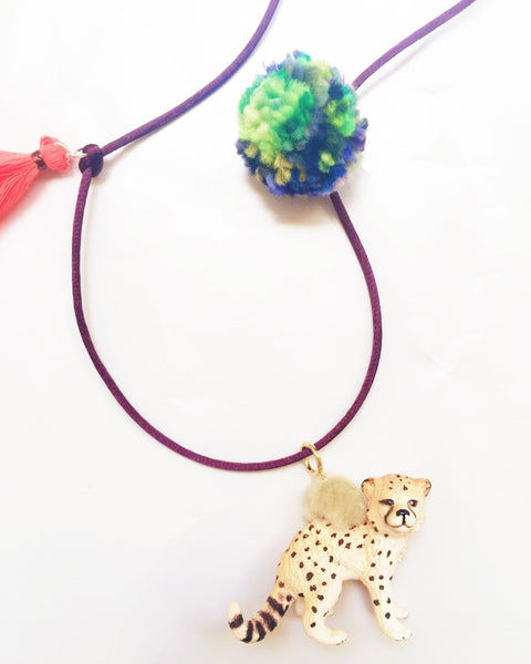 Leopard Wild Animal Necklace