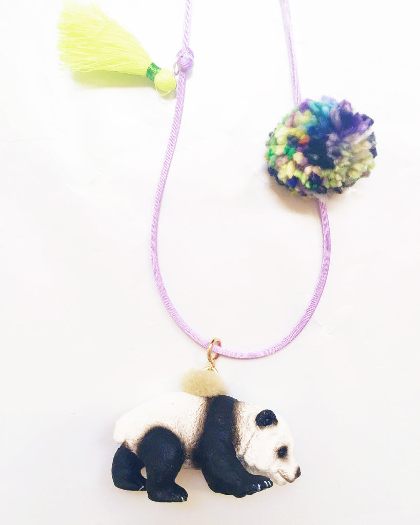 Panda Wild Animal Necklace