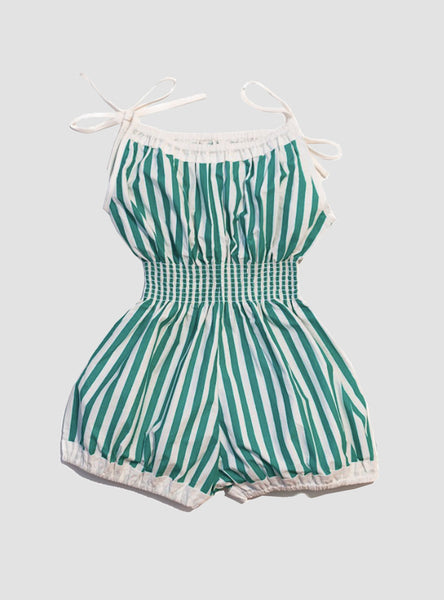 Jada Seafoam Stripe Playsuit