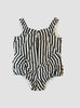 Lola Black Stripe Playsuit