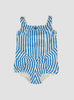 Lola Powder Blue Stripe Playsuit