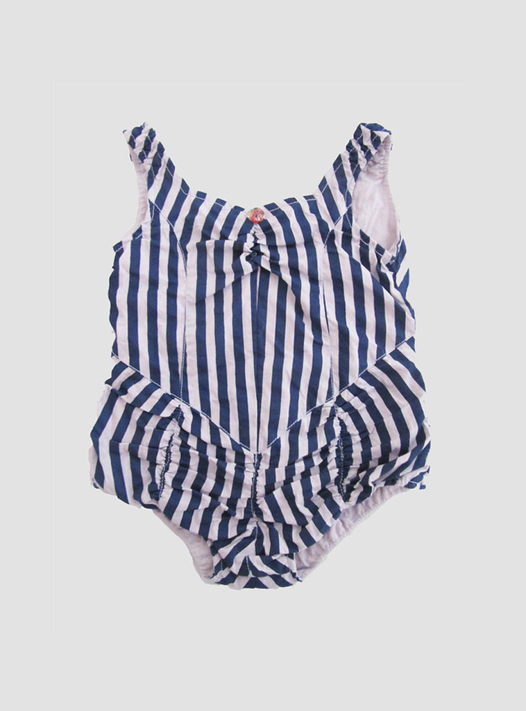 Lola Indigo Stripe Playsuit