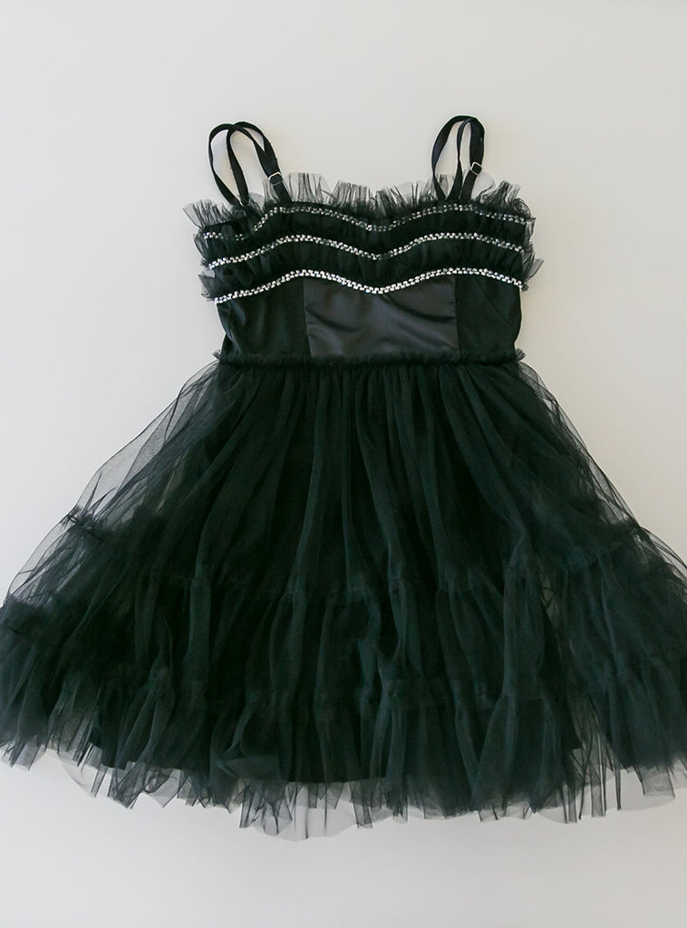Midnight Swan Tutu Dress