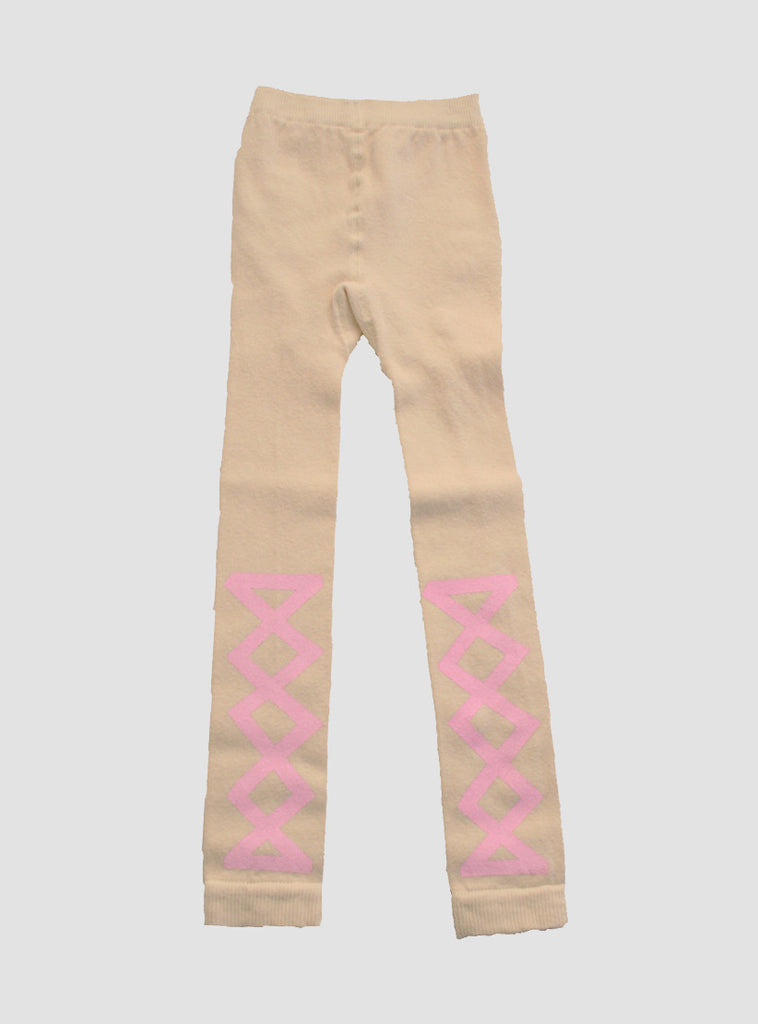 Ribbon Pink Leggings