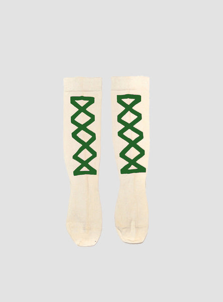 Ribbon Grass Knee Socks
