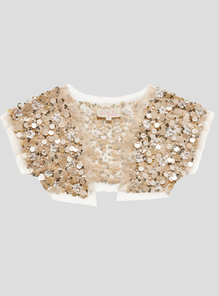 Embellished Fields Shrug