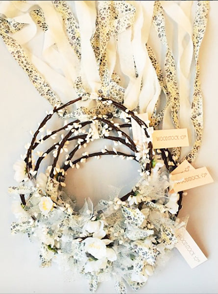 White Princess Garland
