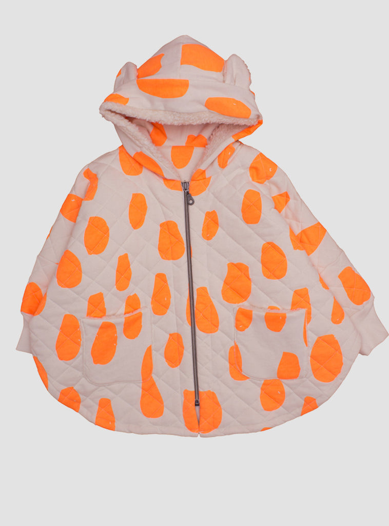 Cape in Neon Orange Drops