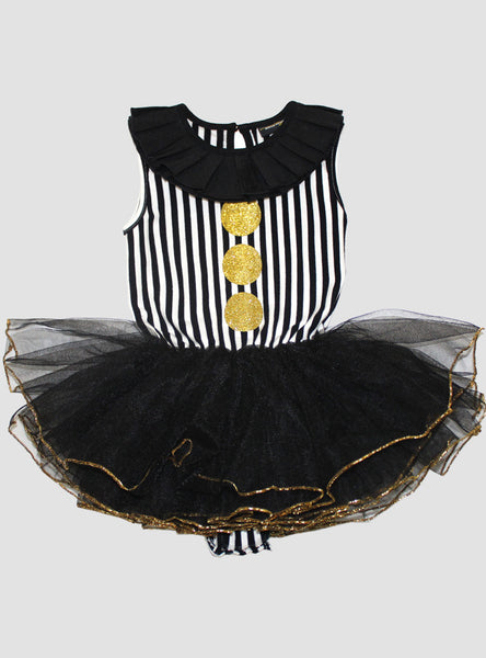 Big Top Circus Stripe Tutu - Black
