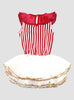 Big Top Circus Stripe Tutu - Red