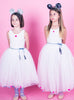 Confetti Tutu Dress - White