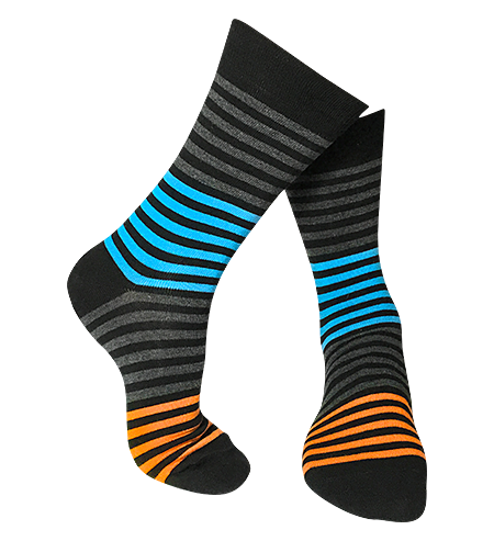 Pattern Bamboo Socks | Eco-Friendly | Mini-stripe
