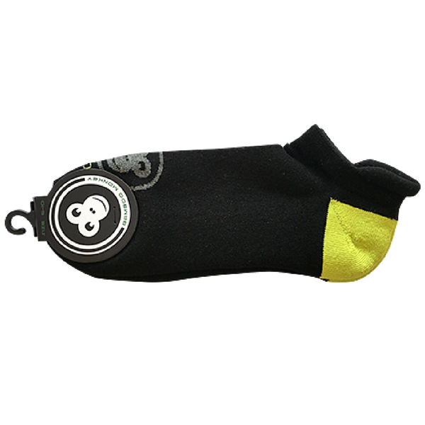 Bamboo Monkey sports sock with cushioned heel