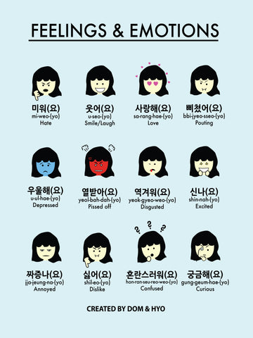 Feelings & Emotions in Korean Part 2
