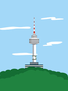 Seoul Tower/Namsan Tower Poster