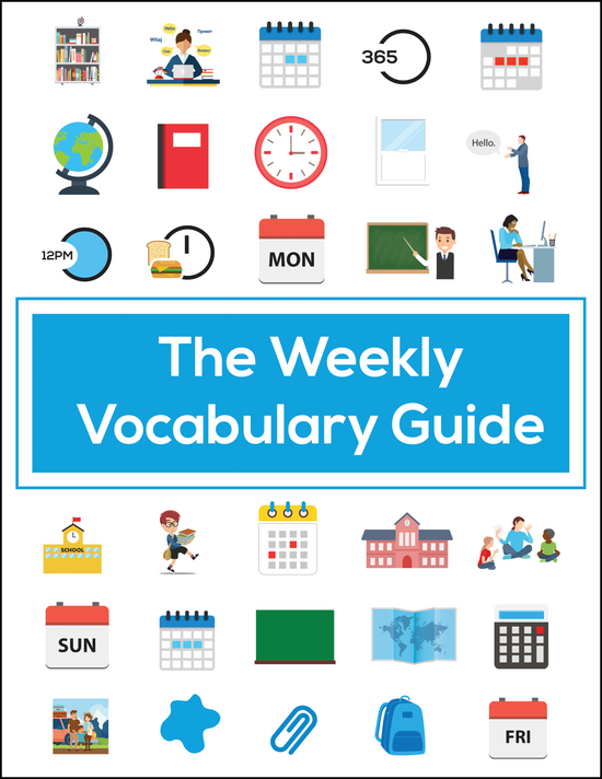 The Weekly Vocabulary Guide | Learn Basic Korean Vocabulary