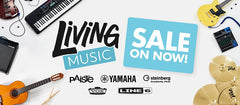 LIVING MUSIC SALE NOW ON!!