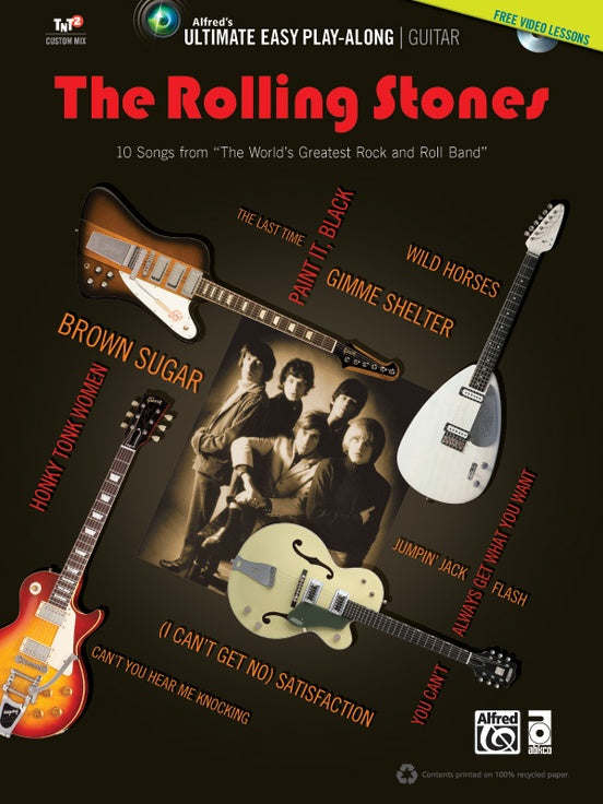The Rolling Stones Ultimate Easy Guitar playalong