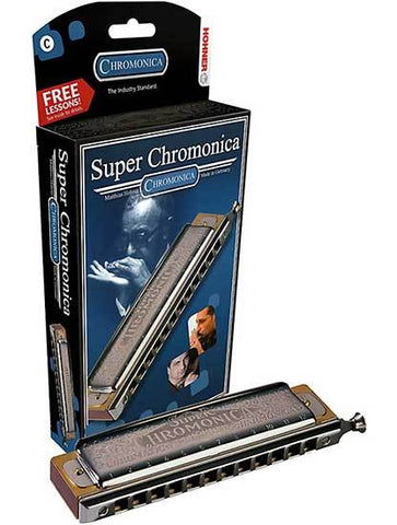 "Hohner Super Chromonica Chromatic harmonica in the key of C ""FREE FREIGHT"""