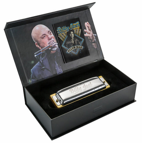 """coming soon""           Hohner ""Billy Joel""signature series harmonica"